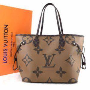 Louis Vuitton Neverfull MM Oversize 31x28x17cm